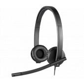 Logitech H570e Stereo slušalice s mikrofonom, USB