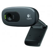 Logitech C270 HD web kamera, 720p, kvačica