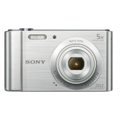"Sony DSC-W800S 20.1Mp/5x/2.7""/720p  srebrni"