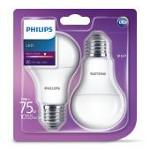 Philips LED žarulja, E27, A60, topla, 11W, mat. 2x