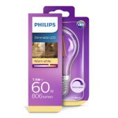 Philips LED žarulja, E27, A60, topla, 7.5W, dim