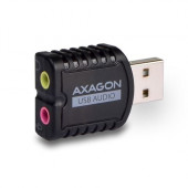 AXAGON ADA-10 USB2.0 - Stereo Audio Mini Adapter