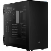 Corsair Carbide 678C, tower case (black, Tempered Glass)