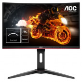 """AOC LCD 24"""" curved, 16:9, 1ms, DP"""