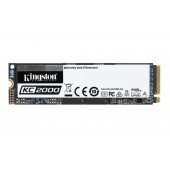 Kingston KC2000 NVMe 500GB,R3000/W2000, M.2 2280