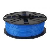Gembird PLA filament for 3D printer, Fluorescent Blue, 1.75 mm, 1 kg