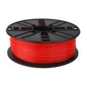 Gembird PLA filament for 3D printer, Fluorescent Red, 1.75 mm, 1 kg