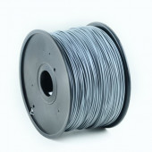 Gembird PLA filament for 3D printer, Silver 1.75 mm, 1 kg