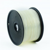 Gembird PLA filament for 3D printer, Transparent 1.75 mm, 1 kg