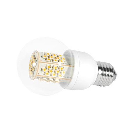 Transmedia LED Lamp 4,5W warm white clear glass E27