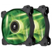 Corsair SP140 LED Green High Static Pressure Twin Pack