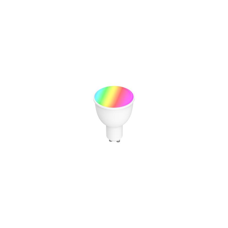 WOOX WiFi Smart LED RGB žarulja GU10, 4 5W, 350lm, 2700K toplo bijela, Tuya  smart app, glasovna kontrola - Alexa & Googl - Uzi Shop