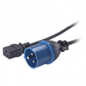 APC Power Cord, C19 to IEC309 16A, 2.5m