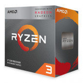 AMD CPU Desktop Ryzen 3 4C/4T 3200G (4.0GHz,6MB,65W,AM4) box, RX Vega 8 Graphics, with Wraith Stealt