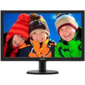 """Philips 24"""" 243V5LHSB/00 (23.6"""") 16:9 Full HD (1920×1080) LED, 1ms, VGA/DVI-D/HDMI, crni"""