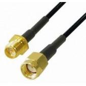 Transmedia WLAN-ANT Kabel R-SMA 1m