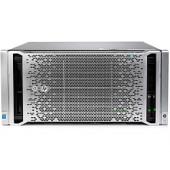 HP ProLiant ML350 Gen9 Performance, 2× Intel Xeon E5-2630 v4 (2.20GHz), 32GB (2×16GB) DDR4, 8 SFF HDD (no HDD), Smart Ar