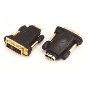 NaviaTec HDMI Jack to DVI Plug, gold