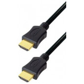 Transmedia HDMI cable with Ethernet 1m gold plugs