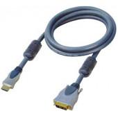 Transmedia HDMI to DVI plug Cable 1m