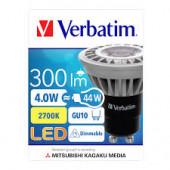 Verbatim LED žarulja GU10 4W, 300lm, 2700K, dimabilna