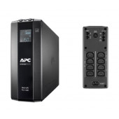 APC Back UPS Pro 1600VA, 8x IEC C13 Outlets, AVR, LCD Interface