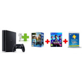 GAM SONY PS4 500GB F Chassis Black Bundle