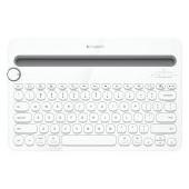 LOGITECH Bluetooth Keyboard K480 - INTNL - US International Iayout - WHITE