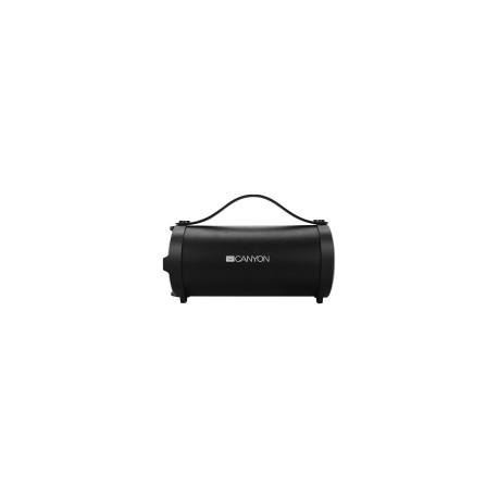 Canyon Bluetooth Speaker, BT V4.2, Jieli AC6905A, TF card support, 3.5mm AUX, micro-USB port, 1500mA