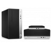 HP ProDesk 400 G6 PC, Intel Core i7-8700, 8GB DDR4, 256GB SSD, Intel UHD, DVDRW, G-LAN, Windows 10 Professional + tipkov