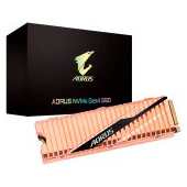 GIGABYTE SSD 500 GB,M.2 2280, PCI-Express 4.0 x4, NVMe 1.3, 5000MBs/2500MBs, Retail