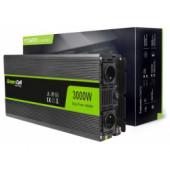 Green Cell strujni inverter 12V na 220V, 3000W/6000W (INV12)