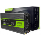 Green Cell strujni inverter 12V na 230V, 3000W/6000W Full Sine Wave (INV15)
