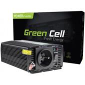 Green Cell strujni inverter 12V na 230V, 300W/600W (INV01DE)