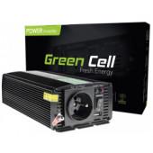 Green Cell strujni inverter 24V na 230V, 500W/1000W (INV04)