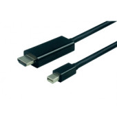 Roline VALUE mini DisplayPort kabel, mini DP M na UHDTV M, 1.0m