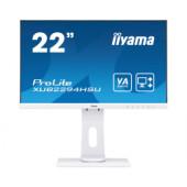 """IIYAMA 22"""" ProLite XUB2294HSU-W1 (21.5"""") 16:9 Full HD (1920×1080) Pivot VA LED UltraSlim, 4ms, 250 cd/m2, VGA/HDMI/DP/US"""