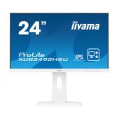 "IIYAMA 24"" ProLite XUB2492HSU-W1 (23.8"") 16:9 Full HD (1920×1080) Pivot IPS LED UltraSlim, 4ms, VGA/HDMI/DP/USB2.0×2, HD"
