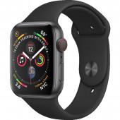 Acc. Bracelet Apple Watch Series 5 32GB space gray Alu cas 40mm black sport band