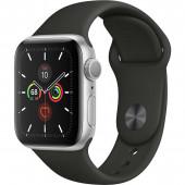 Acc. Bracelet Apple Watch Series 5 32GB silver Alu case 44mm black sport band