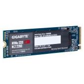 GIGABYTE SSD 1TB, M.2 2280, NVMe 1.3 PCI-Express 3.0 x4, 3D NAND TLC, 2500MBs/2100MBs, 5Yr., Retail