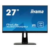 """IIYAMA 27"""" ProLite XUB2792QSU-B1 16:9 WQHD (2560×1440) Pivot IPS LED, 5ms, 350 cd/m2, DVI/HDMI/DP, 2×USB3.0, HDCP, zvučn"""