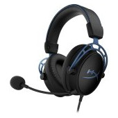 Kingston HyperX Gaming Headset, Cloud Alpha S, blue, 50mm drivers, USB Audio Control Mixer + 3.5mm j