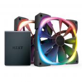 NZXT Aer RGB 2 starter kit 2x120mm RGB vent.,HUE 2