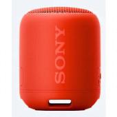 Sony SRS-XB12, prijenosni zvučnik Bluetooth, crven