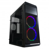 LC-Power 999B Phantasm, RGB, 2xU3, 1xU2, ATX