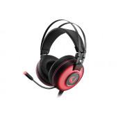 Slušalice Rampage Alpha-X s mikrofonom, 7.1 Surround Sound, PC/PS4/Xbox, USB, crvene