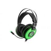Slušalice Rampage Alpha-X s mikrofonom, 7.1 Surround Sound, PC/PS4/Xbox, USB, zelene