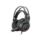 Slušalice Rampage RM-K2 X-QUADRO RGB s mikrofonom, 7.1 Surround Sound, PC, USB