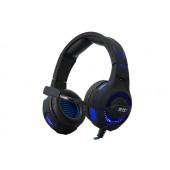 Slušalice Rampage Snopy SN-RW7 s mikrofonom i LED osvjetljenjem, crno - plave